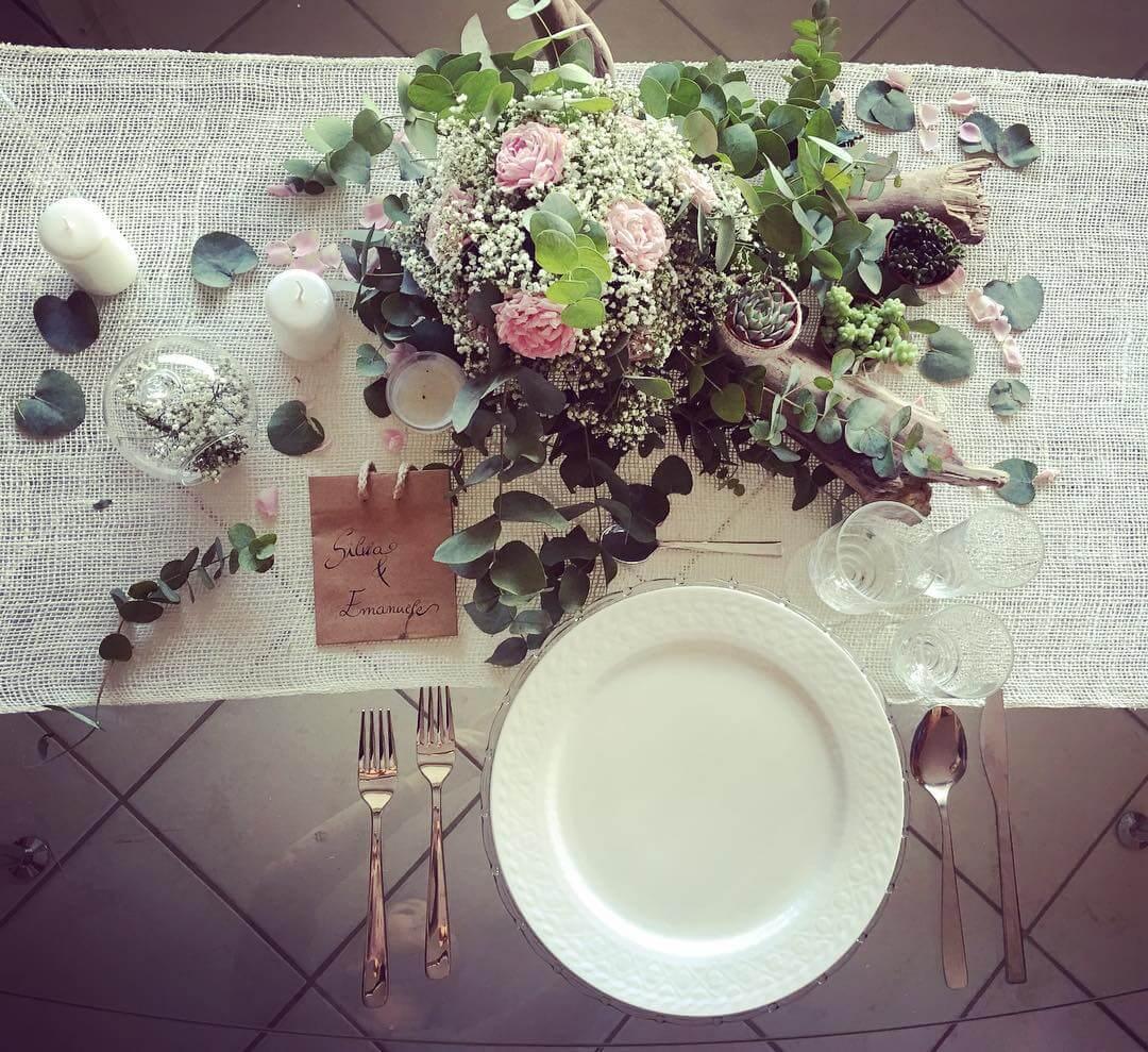 prova allestimento tavola matrimonio pescara